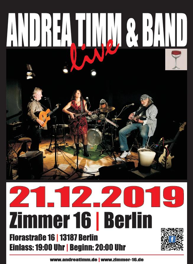 Konzert Zimmer 16 Berlin 21.12.2019