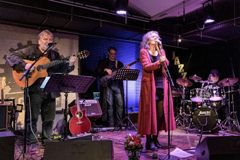 Timmi Andrea Timm und Band live
